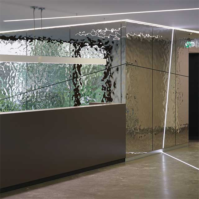 Munich, Germany, Wall Cladding With Product Line EXYD-M, Glued, Architects Oliv, Photo EXYD