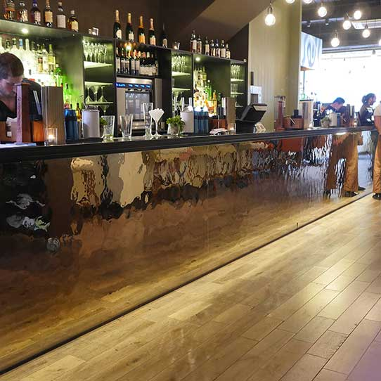 EXYD - Coconut Bar & Kitchen in Reading, UK, 2014, Product Line EXYD-M