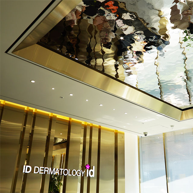 South Korea, Seoul, ID Hospital, Dermatology Department, Reception Room, Ceiling with EXYD-M, Photo EXYD
