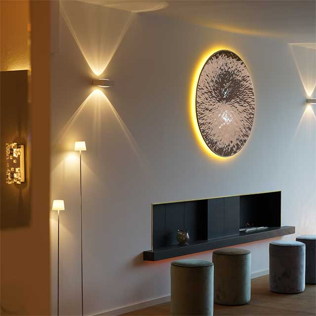 Germany, Lighting Designer WML, Wall Light Based On EXYD-W, Photo EXYD
