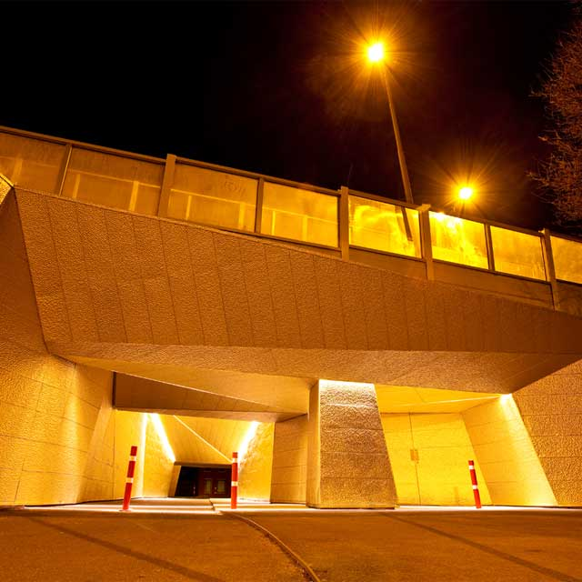 Underpass in Groningen on Meeuwerderweg during Night-Time (c) Peter Wollinga