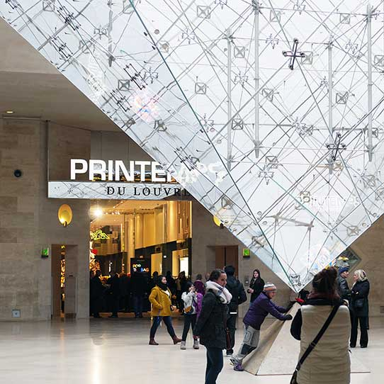 Exyd printemps at carrousel du louvre paris france 2014 product line ex - Date construction du louvre ...